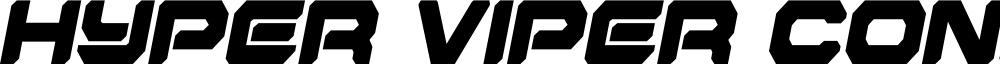 Hyper Viper Condensed SemiItal