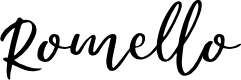 Preview image for Romello Demo Font