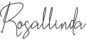Preview image for Rosallinda Font