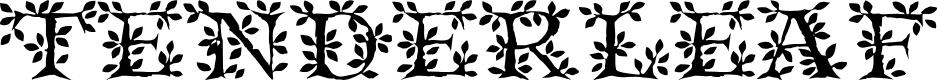 Preview image for Tenderleaf Regular Font