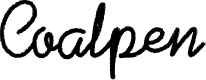 Preview image for Coalpen Font