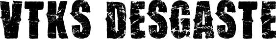 Preview image for Vtks Desgaste Font