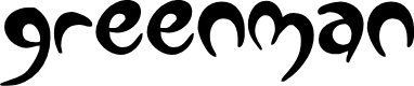 Preview image for Greenman Font
