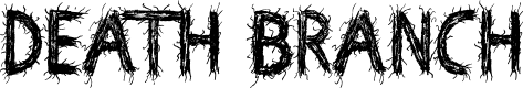 Preview image for Death Branch Font