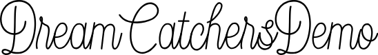 Preview image for DreamCatchersDemo Font