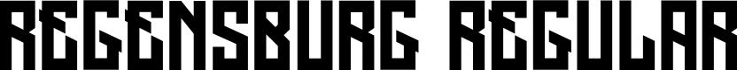 Preview image for Regensburg Regular Font