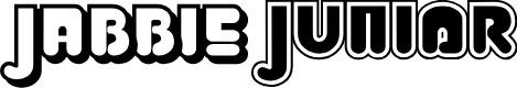 Preview image for Jabbie Junior Font