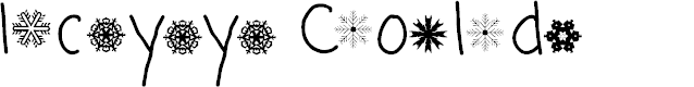 Preview image for Icyy Cold Font