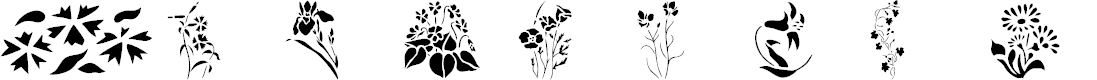 Preview image for Wildflowers2 Font