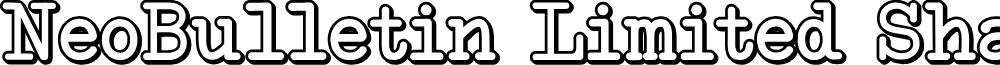 NeoBulletin Limited Shadow
