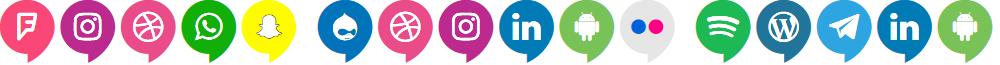Icons Social Media 14