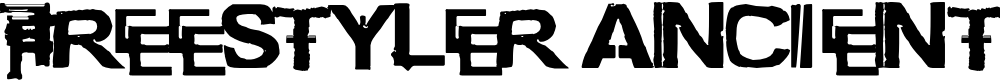Preview image for freestyler ancient f6(modified) Font