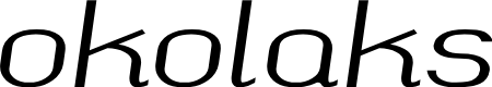 Preview image for okolaks Regular Italic