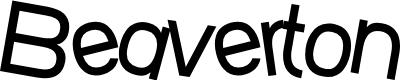 Preview image for SF Beaverton Medium Font