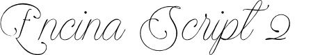 Preview image for Encina Script 2 PERSONAL USE