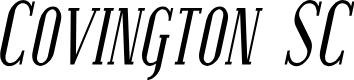 Preview image for Covington SC Cond Italic