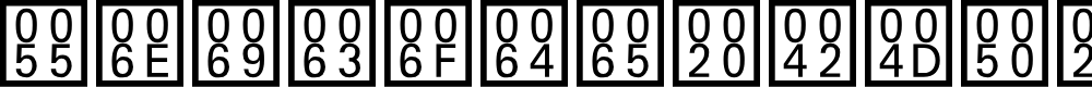 Preview image for Unicode BMP Fallback SIL Font
