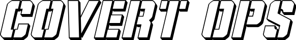 Preview image for Covert Ops 3D Italic