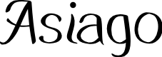 Preview image for Asiago Font