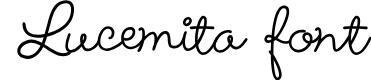 Preview image for Lucemita-Regular Font