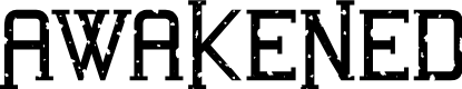 Preview image for Awakened Grunge Font