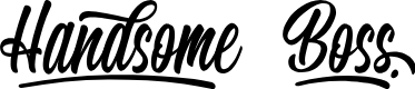 Preview image for Handsome Boss - Personal Use Font