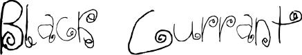Preview image for Black Currant Regular Font