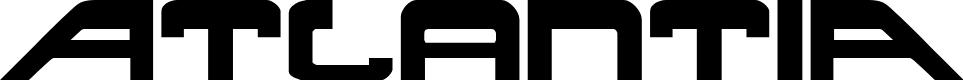 Preview image for Atlantia Regular Font