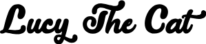 LucytheCat-Regular font