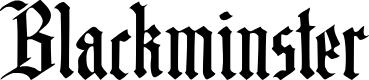 Preview image for DK Blackminster Regular Font