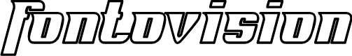 Preview image for Fontovision IV outline