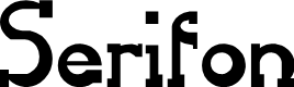Preview image for Serifon Normal Font