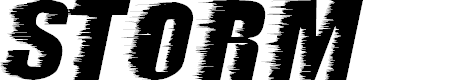 Preview image for storm ExtraBold Font