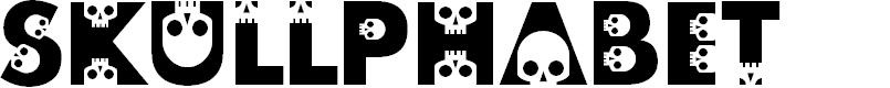 Preview image for skullphabet Font