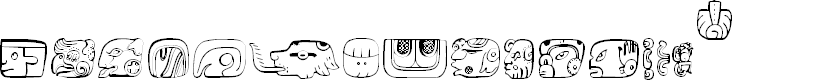 Preview image for MesoAmerica Font