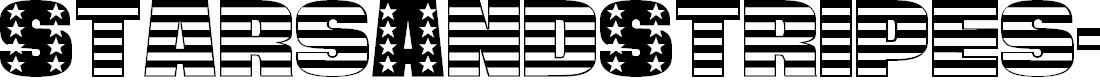 Preview image for StarsAndStripes-Plain Regular Font