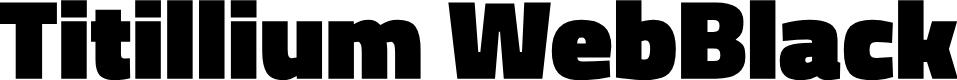 Preview image for Titillium WebBlack