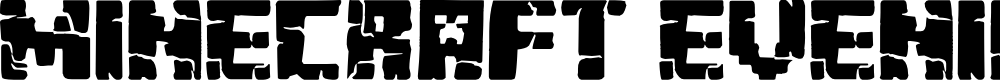 Preview image for Minecraft Evenings Font
