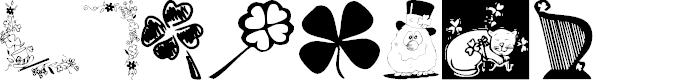 Preview image for KR Irish Kat 3 Font