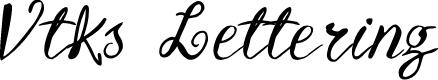Preview image for Vtks Lettering