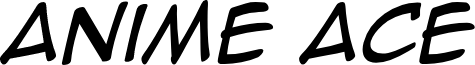 Anime Ace Italic