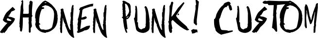 Preview image for Shonen Punk! Custom Bold Bold