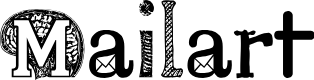 Preview image for Mailart Font