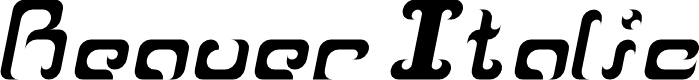 Preview image for Reaver Italic