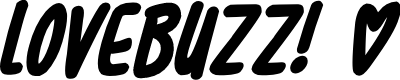 Preview image for Lovebuzz Font
