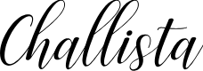 Preview image for Challista Font