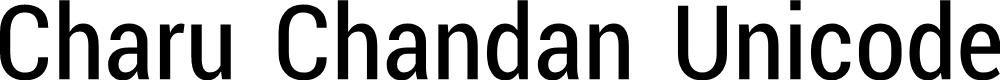 Preview image for Charu Chandan Unicode Font