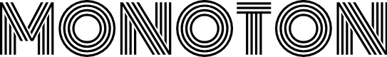 Preview image for Monoton Font