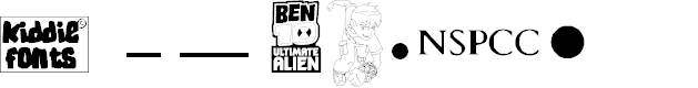 Preview image for BENS ALIENS Font