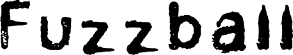 Preview image for Fuzzball Font